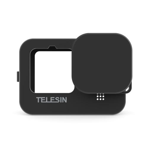 TELESIN Action Kamera Schutzhülle aus weichem Silikon