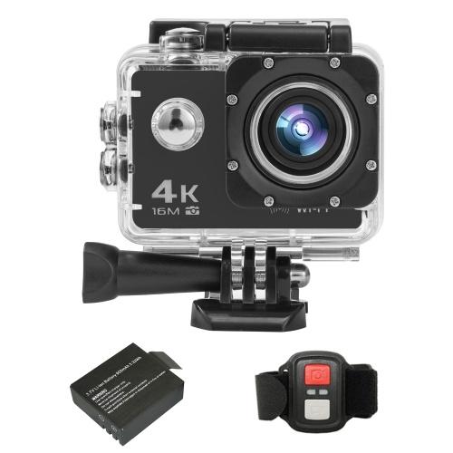 Caméra d'action sportive 4K / 30FPS 16MP Ultra HD