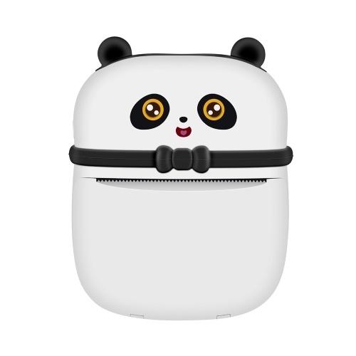 Mini imprimante de poche pour enfants Imprimante thermique portable Imprimante multifonctionnelle BT