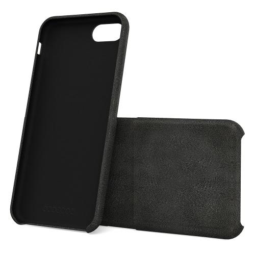 Dodocool portfel skórzany portfel skórzany portfel skórzany pokrowiec ochronny z gniazdem karty kredytowej dla 4.7-calowy telefon iPhone 7 czarny