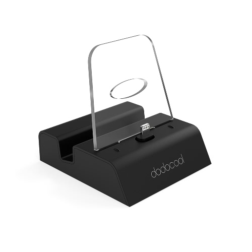 Dodocool MFI Certified Lightning Charging Dock Station Поддержка iPhone X / 8 Plus / 8/7 Plus / 7 / SE / 6s Plus / 6s / 6 Plus / 6 / 5s / 5c / 5 iPod touch