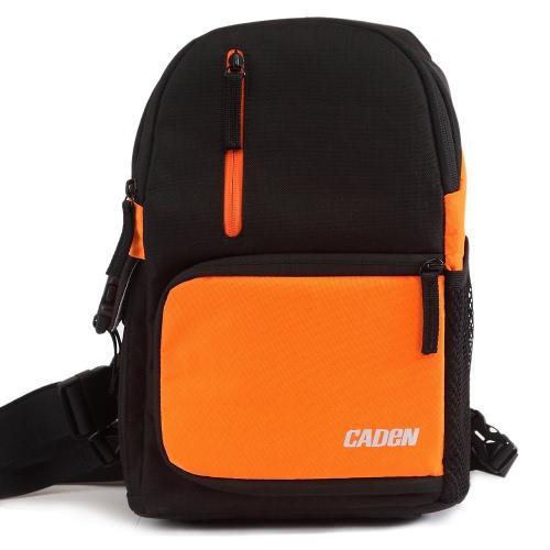 Caden D5 Stylowy aparat Plecak na ramię Travel Torba Duża pojemność Wodoszczelność do Canon Nikon DSLR lustrzanka z pokrowiec