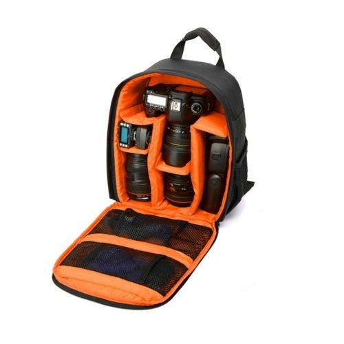 Mochila impermeável do saco DSLR da câmera 13 x tamanho de 10,4 x 4,9 polegadas