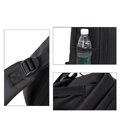Camera Bag Waterproof DSLR Backpack 13 x 10.4 x 4.9 Inch Size
