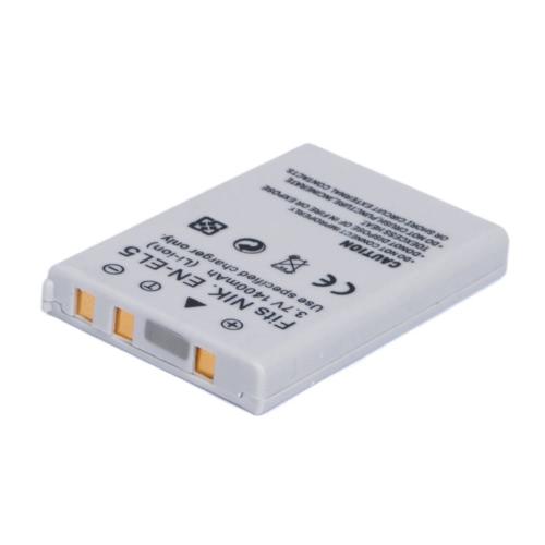 1400mAh EN-EL5 Battery for NIKON COOLPIX P90 P100 P5100 P6000 S10