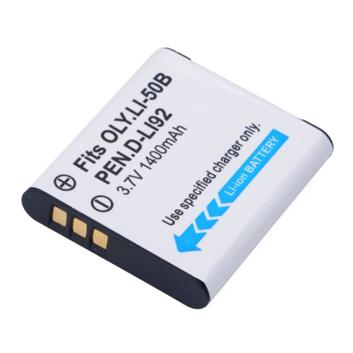1400mAh LI-50B DB-100 Akumulator do Olympus Stylus 1010 1020 1030 6000 6010 6020 LI50B