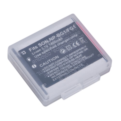 1400mah Camera Battery for Sony NP-BG1 NP-FG1 DSC-H3 DSC-W70 BC-CSGE BC-CSGD W30