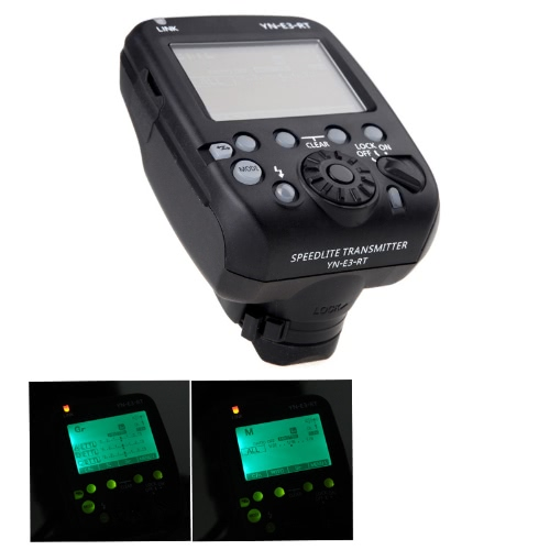 YN-E3-RT Yongnuo Flash Speedlite Transmitter Compatible with 600EX-RT for Canon DSLR Cameras