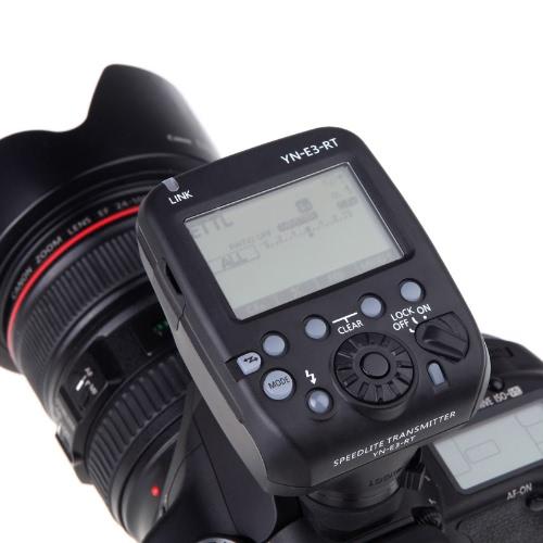 YN E3 RT Yongnuo フラッシュ スピード ライト送信機互換性のキヤノン デジタル一眼レフ カメラ用 600EX RT