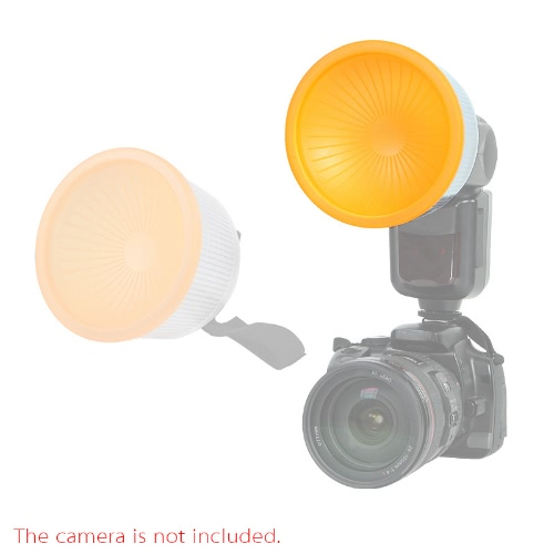 Universal Lambency Soft Flash Diffuser Cover Set NG-F02 for Nikon Sony Olympus and Other Speedlite