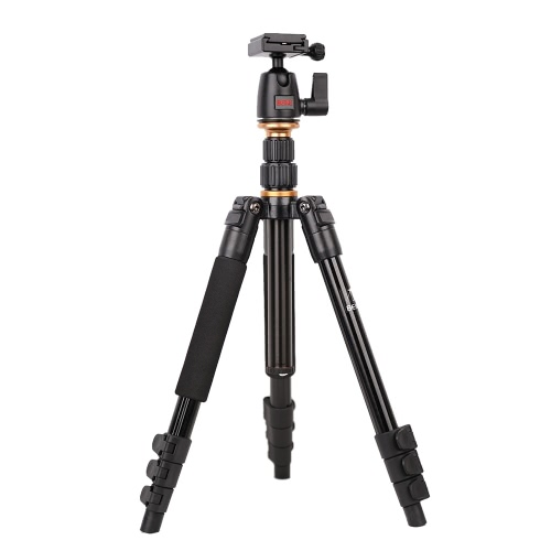 Beike BK-555 Tripod for SLR Camera Ball Head Portable Travel Folded