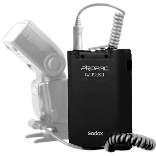Godox PB820S 2000mahキヤノンニコンスピードライト用外部フラッシュ電源バッテリーパック
