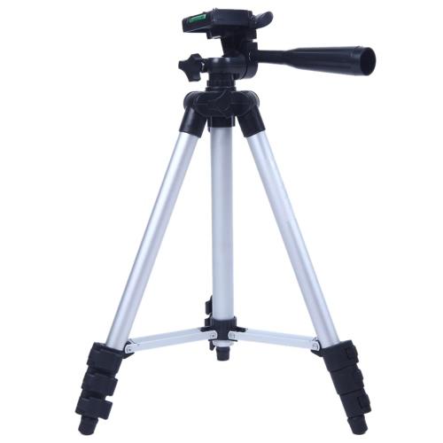 3110A Pro Camera Tripod Lightweight Flexible Portable Three-way Head