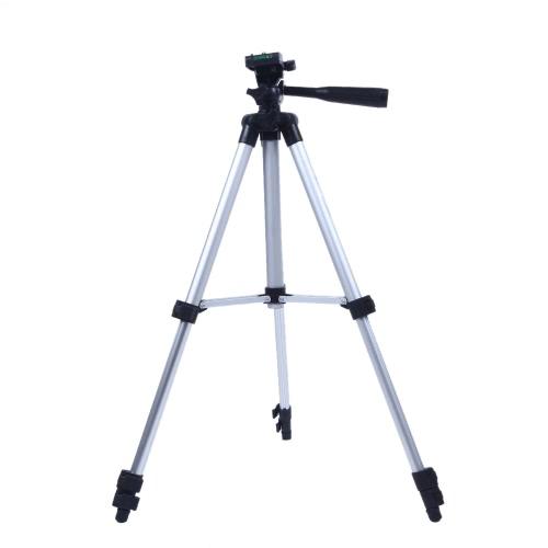 Andoer® 330A Pro Treppiede per Reflex Digitali Videocamera Portatile Universale Leggero 53 pollici a tre vie Testa