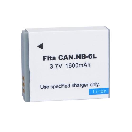 1600mAh NB-6L Batterie pour  Canon IXY 110 Puissance de tir SD980