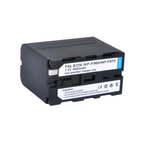 6600mAh NP-F960 NP-F970 Batteries pour NP-F930 SONY Caméra