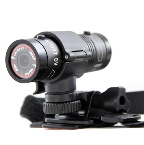 Mini F9 5MP HD 1080P H.264 Waterproof Sports DV Camera Camcorder Car DVR Outdoor Bike Helmet