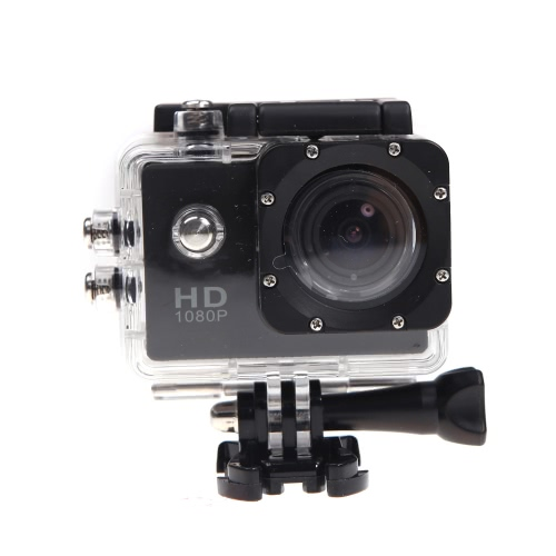 Mini Sports DV HD 1080P 12MP Waterproof 30M Camera Camcorder Car DVR Outdoor Bike Helmet