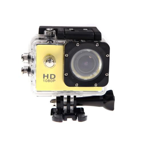 Mini Sports DV HD 1080P 12MP Waterproof 30M Camera Camcorder Car DVR Outdoor Bike Helmet