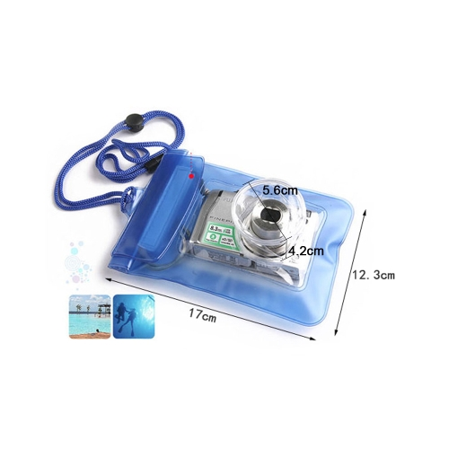 Waterproof Underwater Housing Case Pouch Dry Bag for Nikon Sony ILDC Compact Camera