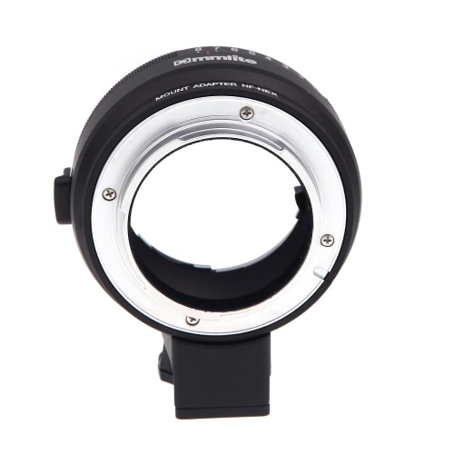 Lens Mount Adapter with Aperture Dial for Nikon G/DX/F/AI/S/D Type Lens to Sony E-Mount NEX Camera NF-NEX for Sony A7/A7R NEX-3/5/5N/7/7N