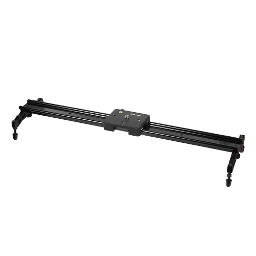 Commlite  60cm / 24'' Sliding-pad Video Track Slider Dolly Stabilizer System for DSLR Camcorders