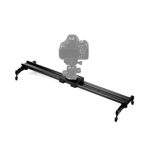 Commlite 60cm / 24 Zoll Schiebe pad Video Track Slider Dolly-System Stabilizer für DSLR Camcorder