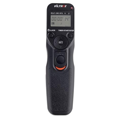 Контроллер беспроводной дистанционного спуска затвора FSK 2,4 ГГц VILTROX JY-710 Установка таймера интервал через промежуток времени с C1 кабель для Canon 300D 400 D 500 D