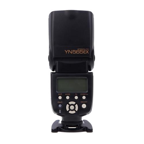 YN565EX TTL 多機能 フラッシュストロボ i-TTL リモート  GN 58 Nikon D90 D7000 D5100 D3100 D700用