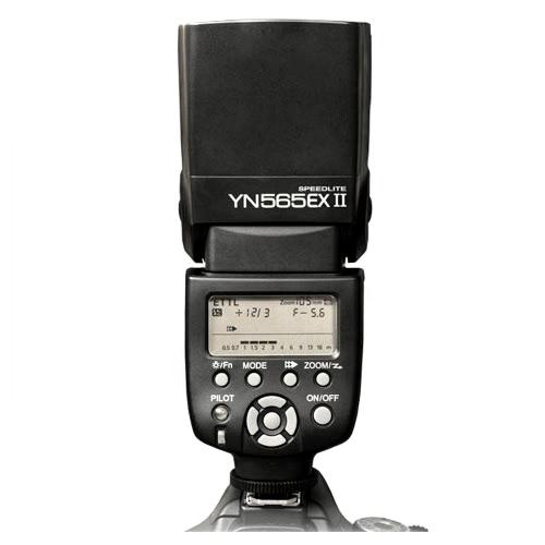 Multi-Function YONGNUO Flash Speedlight YN-565EX II  E-TTL Flash for Canon DSLR Camera