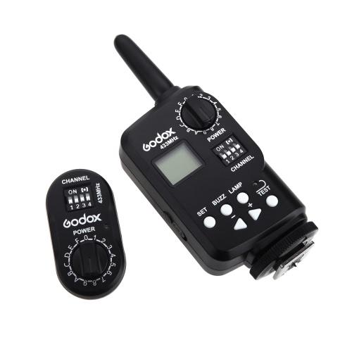 GODOX FT-16 ワイヤレスリモコントリガー/ワイヤレス・ラジオスレーブ キャノン、ニコン、ペンタックス、オリンバスなどのカメラ対応 [並行輸入品]