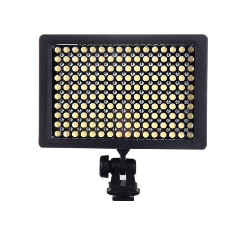160 LED Video Light Lamp Panel 9.6W Dimmable for Canon Nikon Pentax DSLR Camera Video Camcorder