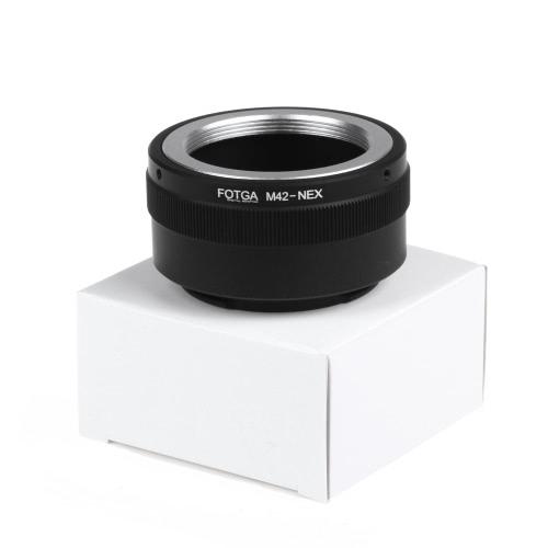 Fotga M42 Adapter Ring for Sony NEX E-mount NEX NEX3 NEX5n NEX5t A7 A6000
