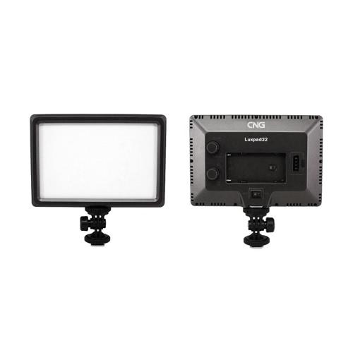 Luxpad22 プロ超キヤノン ニコン デジタル一眼レフ カメラの DV ビデオカメラ用 11 w 112 LED ビデオ ライト パッドを薄く
