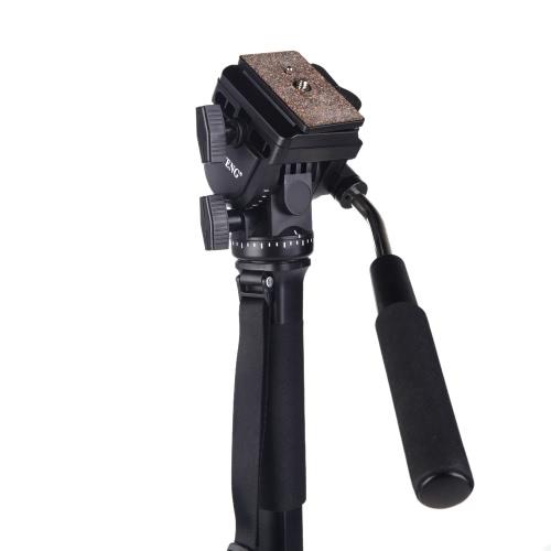 Yunteng VCT 288 写真三脚一脚・流体パンヘッド ・ キヤノン ニコン カメラ用 Unipod ホルダー