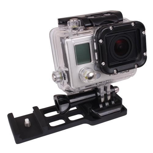 Kamera-Picatinny-Weaver-Gun-Schienenmontage Side für Gopro 1 2 3 3 + 4