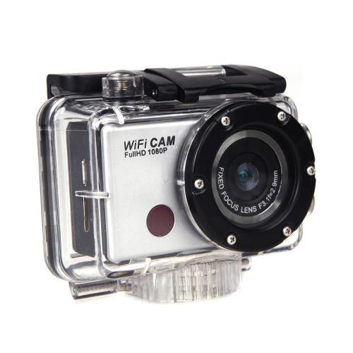WDV5000 1080P Wodoodporne Wifi Działanie Sportowe Kamery wideo Kamery wideo Pilot zdalnego sterowania na podczerwień