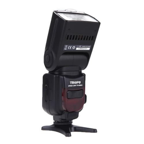Wireless Mode Triopo TR-TTL Lampa błyskowa Speedlite 586EXN do Nikon D5300 D7100 D80 D610 D600 D800 D80 D90 D5000 D3000 D7000 D3200