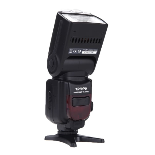 Triopo TR-586EXN Flash Speedlite TTL Mode Sans Fil pour Nikon D5300 D610 D7100 D80 D600 D800 D80 D90 D5000 D3000 D7000 D3200