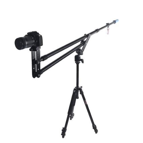 Portable DSLR Mini Jib Video Camera DV  Crane Jibs Rocker Arm Extention Up to 6kg with Bag