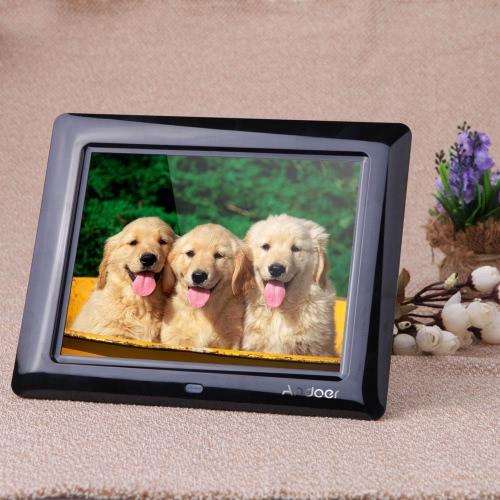 8 '' HD TFT-LCD Ramka cyfrowa Zegar MP3 MP4 Odtwarzacz filmów z pulpitu zdalnego