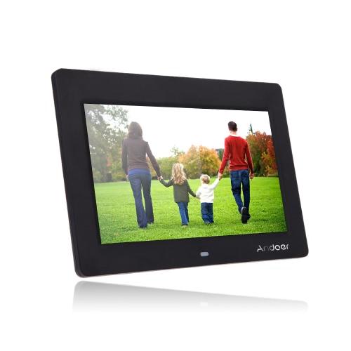 10 '' HD TFT-LCD 1024 * 600 Marco de fotos digital Reloj Reproductor de películas MP3 MP4 con escritorio remoto
