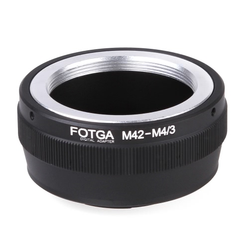 Fotga Adapter Pierścień M42 Lens do Micro 4/3 montażu aparatu Olympus Panasonic DSLR Camera