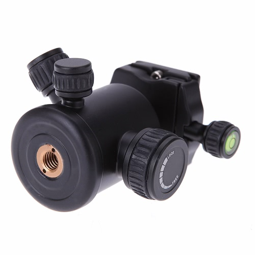 デジタル一眼レフ カメラの三脚、クイック リリース プレートとボールの頭 Ballhead QZSD Q02 アルミニウム カメラ三脚