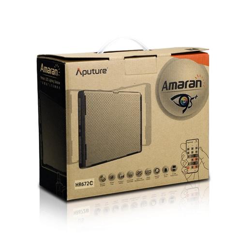 Aputure Amaran HR672C LED Video Light CRI95+ 672 Led Light Panel Brightness Temperature Adjustment with Wireless Remote Control