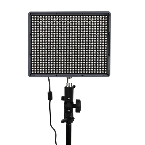 Aputure Amaran HR672C LED Video CRI95 luz + 672 Panel de luz Led brillo ajuste de la temperatura con Control remoto inalámbrico