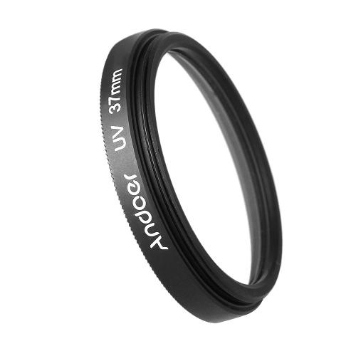 Andoer 37mm UV filtro ultra-violeta protetor de lente para Canon Nikon DSLR câmera