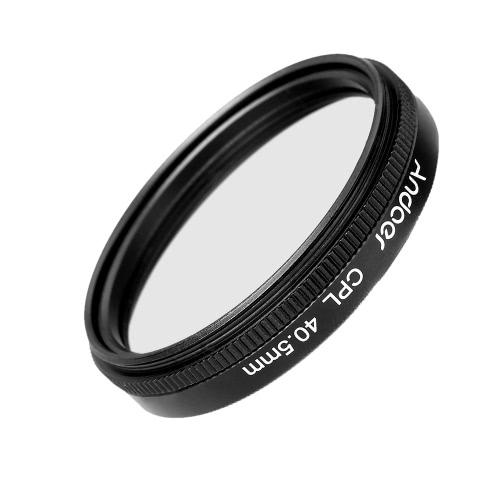 Andoer 40.5mm Digital Slim CPL Circular Polarizer Polarizing Glass Filter for Canon Nikon Sony DSLR Camera Lens