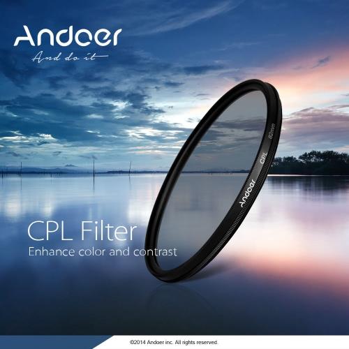 49mm Digitaler Schlank CPL Circular Polfilter Polfilter Glass Filter für Canon Nikon Sony DSLR Kamera Objektiv