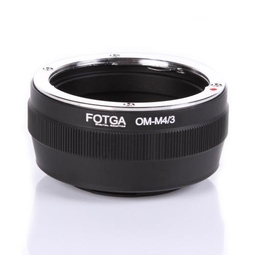 Fotga アダプター リング マウント マイクロ m 4 号線/3 マウント カメラ オリンパス パナソニック デジタル一眼レフ カメラ オリンパス OM 古典的なマニュアル レンズのため